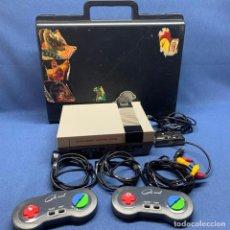 Videojuegos y Consolas: CONSOLA ENTERTAINMENT COMPUTER SYSTEM + 2 MANDOS + MALETA. Lote 226291496