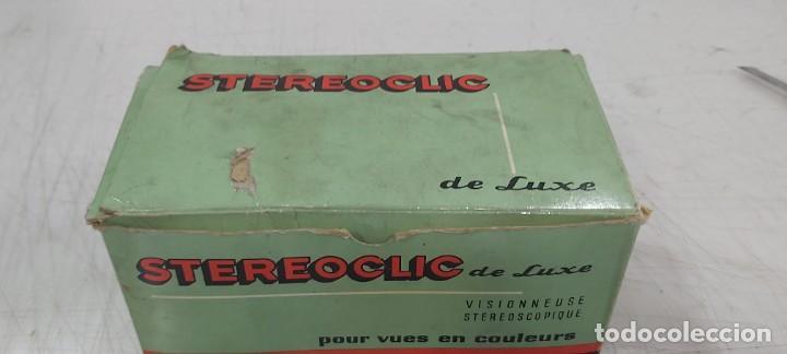ANTIGUO PROYECTOR VISOR DE DIAPOSITIVAS STEREOCLIC DE LUXE (Juguetes - Videojuegos y Consolas - Otros descatalogados)