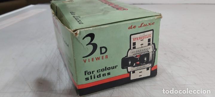 Videojuegos y Consolas: ANTIGUO PROYECTOR VISOR DE DIAPOSITIVAS STEREOCLIC DE LUXE - Foto 2 - 226801135