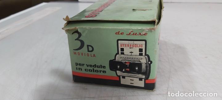 Videojuegos y Consolas: ANTIGUO PROYECTOR VISOR DE DIAPOSITIVAS STEREOCLIC DE LUXE - Foto 3 - 226801135