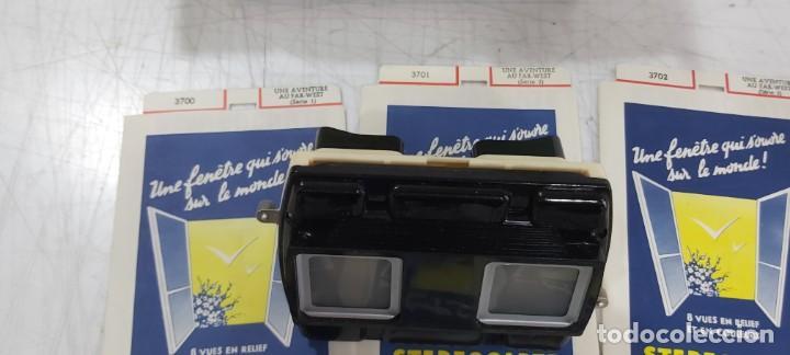 Videojuegos y Consolas: ANTIGUO PROYECTOR VISOR DE DIAPOSITIVAS STEREOCLIC DE LUXE - Foto 7 - 226801135