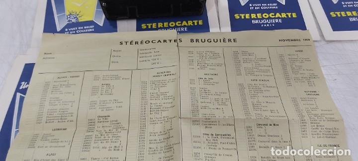 Videojuegos y Consolas: ANTIGUO PROYECTOR VISOR DE DIAPOSITIVAS STEREOCLIC DE LUXE - Foto 9 - 226801135
