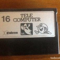 Videogiochi e Consoli: CARTUCHO VIDEOJUEGO TELE COMPUTER PALSON 16. Lote 228095040