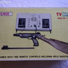 Videojuegos y Consolas: ANTIGUA VIDEO CONSOLA TEMCO T-106C TV COLOUR GAME. Lote 228203075