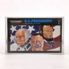 Videojuegos y Consolas: U.S. PRESIDENTS EDUCATIONAL PROGRAM 1984 RETRO VINTAGE SOFTWARE SVI RARA CINTA SPECTRAVIDEO CASSETTE. Lote 228223325