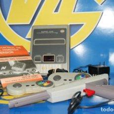 Videojogos e Consolas: CONSOLA CLON SUPER COM - 211 JUEGOS EN 1 FAMILY COMPUTER SYSTEM SP-72/NN-400-AÑOS 90. Lote 228376340