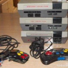 Videojogos e Consolas: LOTE 3 CONSOLAS CLONICAS NES.. Lote 229328830