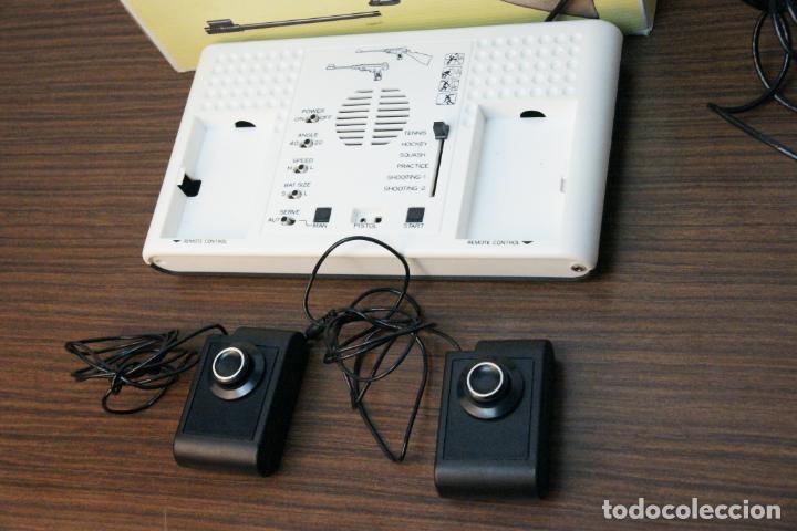 Videojuegos y Consolas: Antigua consola Temco tv color game. Model no. T-106C. 6 juegos. Caja original. años 70 - Foto 2 - 229822555
