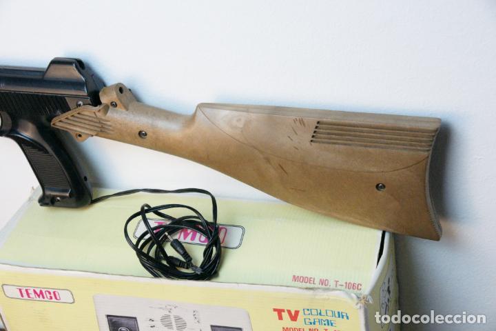 Videojuegos y Consolas: Antigua consola Temco tv color game. Model no. T-106C. 6 juegos. Caja original. años 70 - Foto 5 - 229822555
