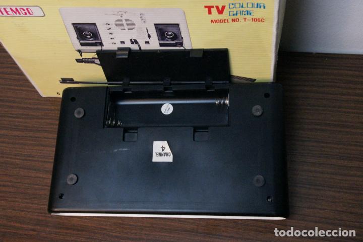 Videojuegos y Consolas: Antigua consola Temco tv color game. Model no. T-106C. 6 juegos. Caja original. años 70 - Foto 6 - 229822555