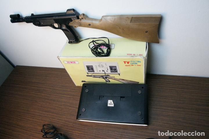 Videojuegos y Consolas: Antigua consola Temco tv color game. Model no. T-106C. 6 juegos. Caja original. años 70 - Foto 7 - 229822555