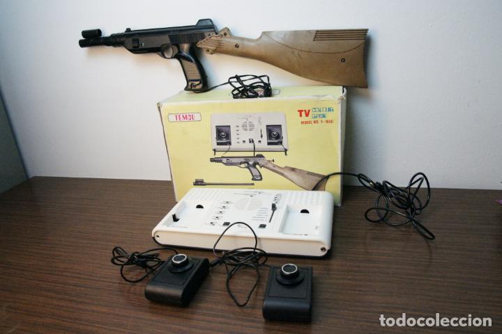 ANTIGUA CONSOLA TEMCO TV COLOR GAME. MODEL NO. T-106C. 6 JUEGOS. CAJA ORIGINAL. AÑOS 70 (Juguetes - Videojuegos y Consolas - Otros descatalogados)