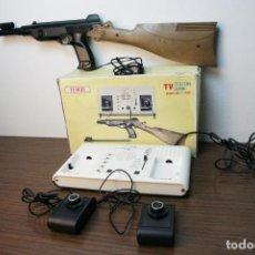 Videojuegos y Consolas: ANTIGUA CONSOLA TEMCO TV COLOR GAME. MODEL NO. T-106C. 6 JUEGOS. CAJA ORIGINAL. AÑOS 70. Lote 229822555
