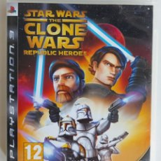 Videojuegos y Consolas: JUEGO PS3 STAR WARS - THE CLONE WARS/REPÚBLICA HEROES. Lote 230489490