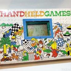Videojogos e Consolas: MAQUINITA GAME&WATCH CON CAJA ORIGINAL HAND HELD GAMES. Lote 230855260