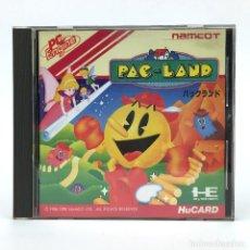 Videojuegos y Consolas: PAC LAND · HUCARD NEC PC ENGINE TURBOGRAFX ROM NAMCO PACMAN 1989 HU CARD WORKING * JUEGO FUNCIONANDO. Lote 231172000