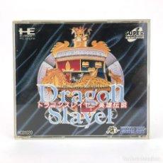 Videojuegos y Consolas: DRAGON SLAYER PC ENGINE SUPER CD ROM2 NEC JAPAN PCE THE LEGEND OF HEROES WORKS! JUEGO FUNCIONANDO OK. Lote 231241500
