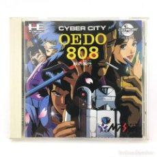 Videojuegos y Consolas: OEDO 808 PC ENGINE HIDEMI MIURA CIBERPUNK SUPER CD ROM2 NEC JAPAN PCE WORKING ! JUEGO FUNCIONANDO OK. Lote 231242680