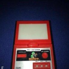Videojuegos y Consolas: NINTENDO PANORAMA MARIO BOMBS GAME & WATCH 1983 VINTAGE MAQUINITA. Lote 278607643