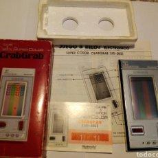 Videojuegos y Consolas: CRAB GRAB SUPERCOLOR GAME & WATCH NINTENDO G&W COMPLETA. Lote 231771880