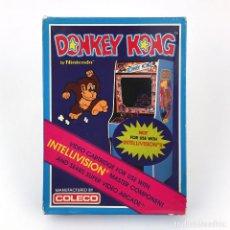 Videojuegos y Consolas: DONKEY KONG PRECINTADO. COLECO INTELLIVISION + SEARS SUPER VIDEO ARCADE NINTENDO JUEGO NUEVO EN CAJA. Lote 248642450
