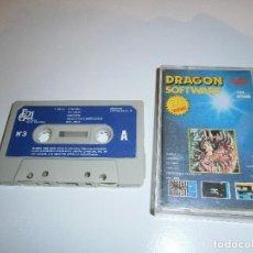 Videojuegos y Consolas: DRAGON SOFTWARE - Nº3 - EDITORIAL GRUPO 21 - 10 PROGRAMAS. Lote 232046020
