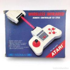 Videojogos e Consolas: JOYSTICK INFRARROJO CONTROL REMOTO SIN CABLE. CAJA MANDO PARA COMMODORE 64 128 ATARI 800 ST 65-130XE. Lote 232082635