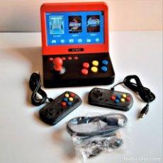 Videojuegos y Consolas: MAQUINA ARCADE CONSOLA PORTATIL + DOS MANDOS - 20 X 18 X 15.CM NUEVA EN SU CAJA ORIGINAL. Lote 232391485
