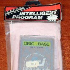 Videojogos e Consolas: ORIC - BASE - NUEVO A ESTRENAR - ORIC ATMOS 48K - 1984 - MANUALES EN ESPAÑOL. Lote 232467810