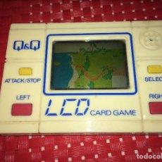 Videojogos e Consolas: MINI CONSOLA Q&Q - CARD GAME - MADE IN JAPAN - AÑOS 80. Lote 232757505