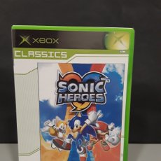 Videojuegos y Consolas: JUEGO CONSOLA SONIC HEROES SEGA CLASSICS XBOX X-BOX. Lote 232881650