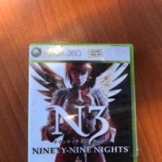 Videojuegos y Consolas: JUEGO NINETY- NIME NIGHTS N3 XBOX 360. Lote 233395495