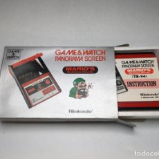Videojogos e Consolas: NINTENDO PANORAMA MARIO'S BOMBS 1983 GAME WATCH - GAME & WATCH NUEVO EN CAJA. Lote 233898985