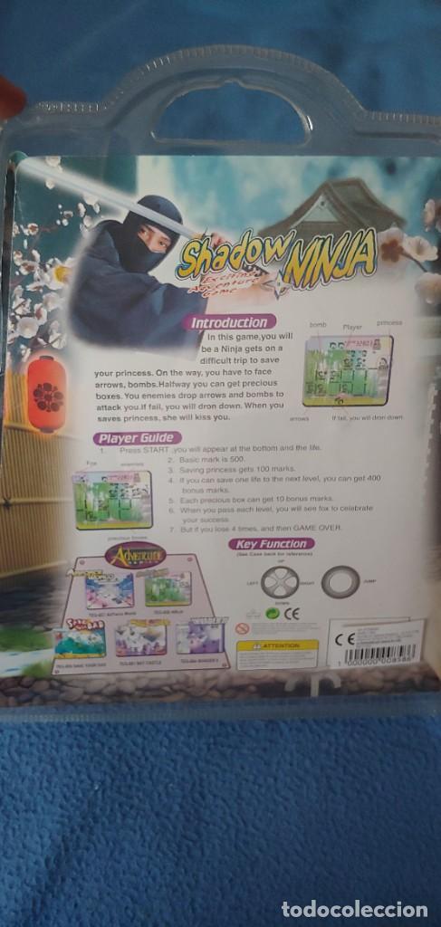 Videojuegos y Consolas: VIDEO CONSOLA DE MANO. JUEGO.SHADOW NINJA.MULTI GAME.HLCD.IGH RESOLUTION,ELECTRONIC. - Foto 2 - 234588925