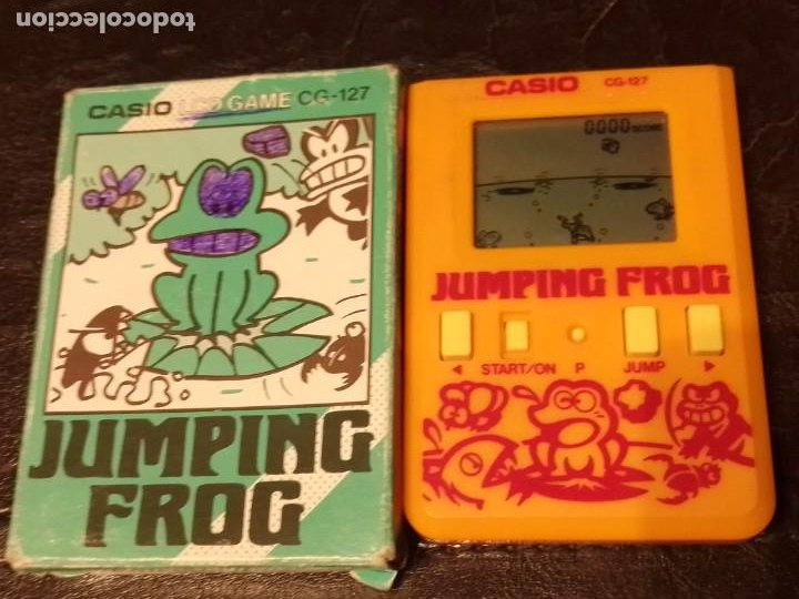 MAQUINITA CASIO JUMPING FROG (Juguetes - Videojuegos y Consolas - Otros descatalogados)