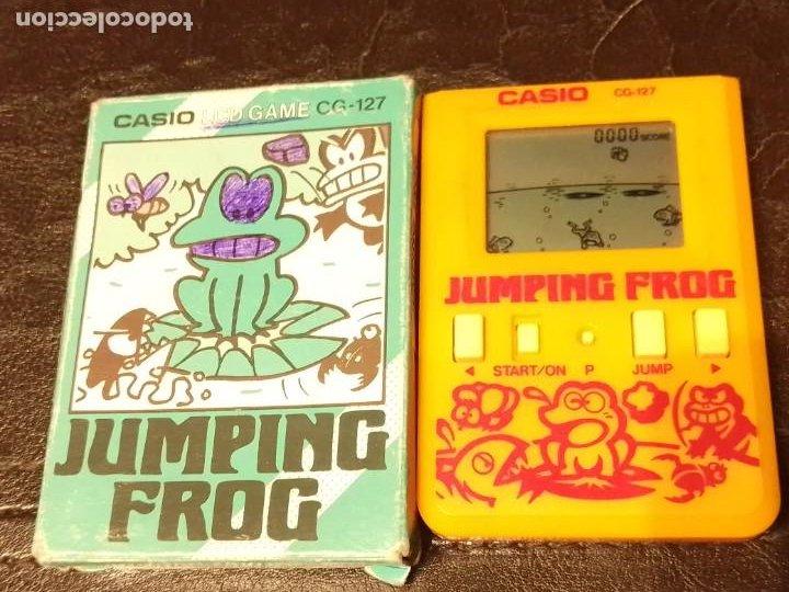 Videojuegos y Consolas: Maquinita Casio jumping frog - Foto 2 - 234778175