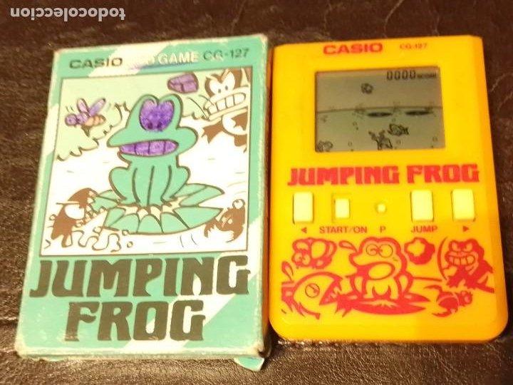 Videojuegos y Consolas: Maquinita Casio jumping frog - Foto 3 - 234778175
