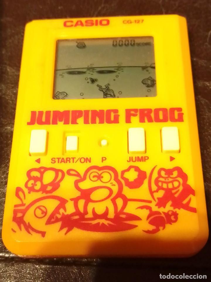 Videojuegos y Consolas: Maquinita Casio jumping frog - Foto 5 - 234778175