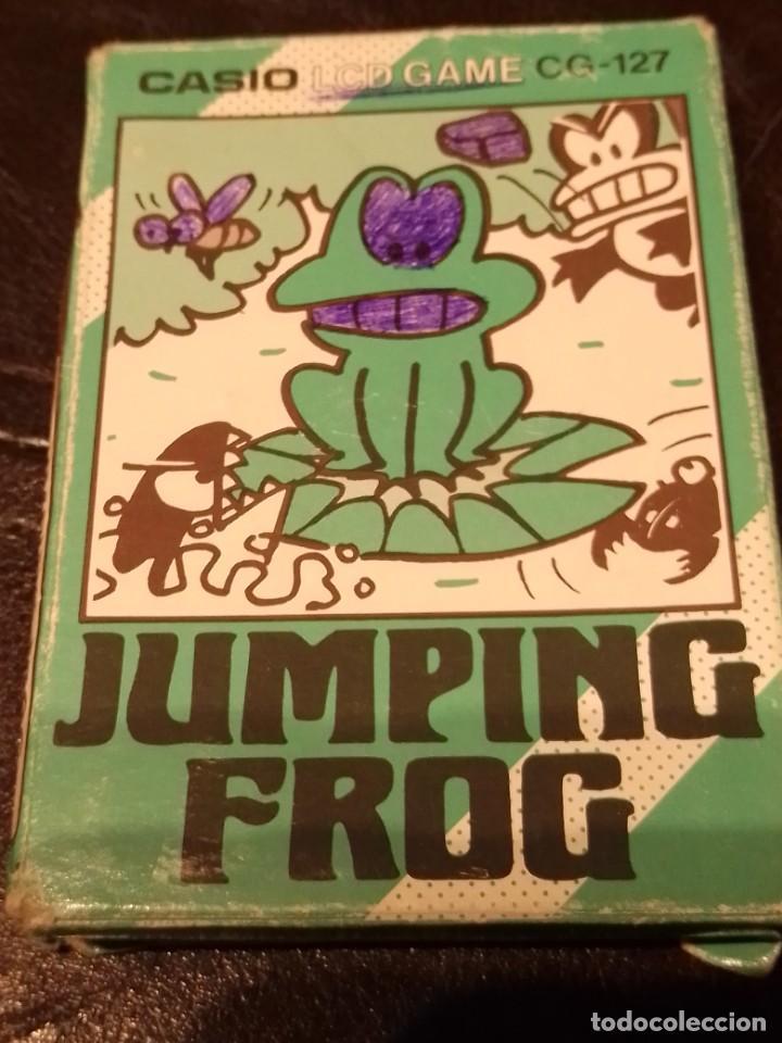 Videojuegos y Consolas: Maquinita Casio jumping frog - Foto 6 - 234778175