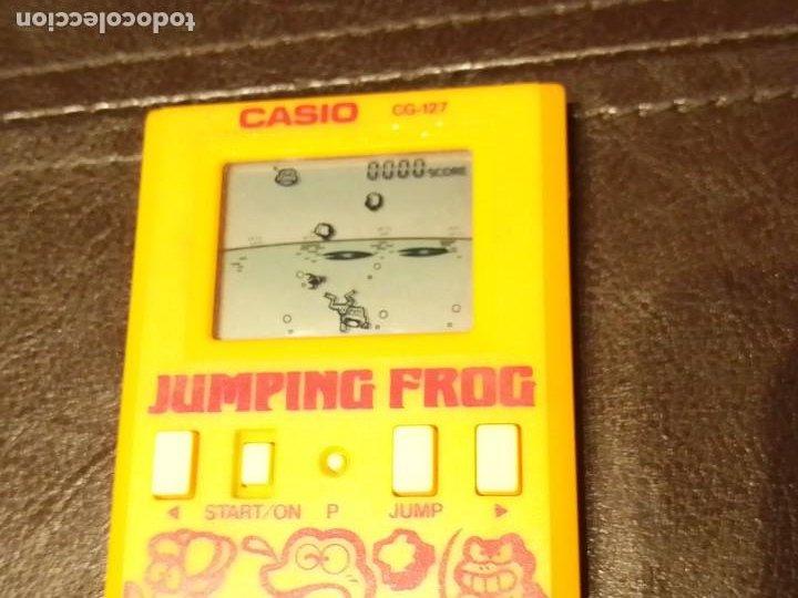 Videojuegos y Consolas: Maquinita Casio jumping frog - Foto 8 - 234778175