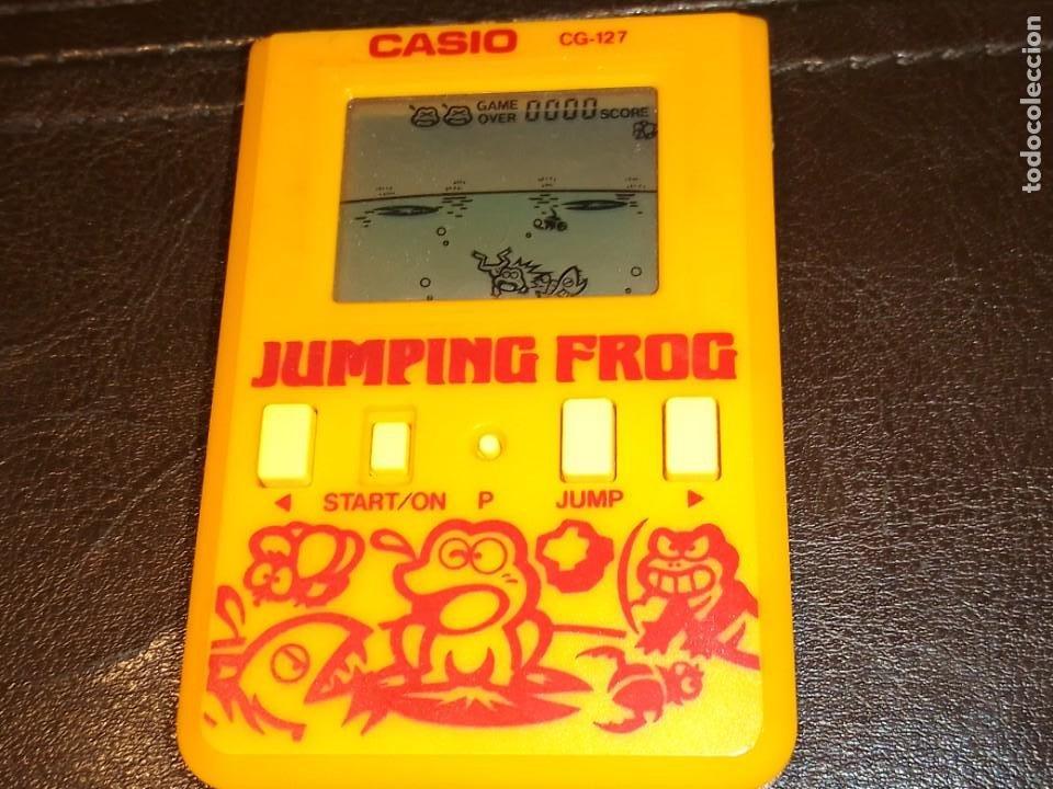 Videojuegos y Consolas: Maquinita Casio jumping frog - Foto 10 - 234778175