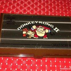 Videojuegos y Consolas: DONKEY KONG II - GAME & WATCH - MULTI SCREEN - NINTENDO - AÑO 1983 - FUNCIONANDO. Lote 235186755