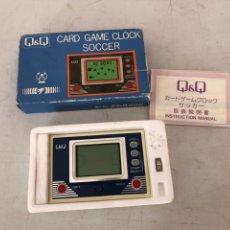 Videojogos e Consolas: CARDENAL GAME CLOCK SOCCER. Lote 235365575