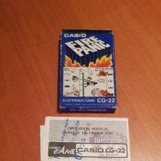 Videojuegos y Consolas: CASIO FIRE PANIC CG-22. Lote 235650300
