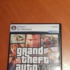 Videojuegos y Consolas: GRAND THIFT AUTO4. Lote 235653000