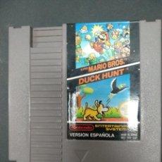 Videojuegos y Consolas: JUEGO NINTENDO NES MARIO BROS DUCK HUNT PAL. Lote 235657235