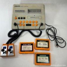 Videojuegos y Consolas: JUEGO BINATONE SUPERSTAR MODEL : 01/4354 + 2 MANDOS + 3 JUEGOS. Lote 235883415