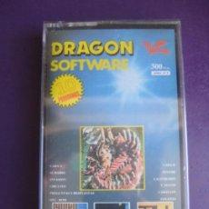 Videojuegos y Consolas: DRAGON SOFTWARE Nº3- CASETE PRECINTADO - 10 PROGRAMAS - INVASION - CIRCUITO, PINTOR - ETC.... Lote 235924590