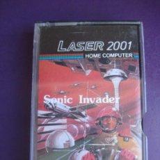 Videojuegos y Consolas: LASER 2001 HOME COMPUTER - SONIC INVADER - VIDEO JUEGO VINTAGE 80'S - DIRIA Q SIN ESTRENAR. Lote 235927520