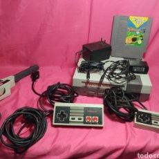 Videojuegos y Consolas: COMPUTER VIDEO GAME CON MANDOS NINTENDO, JUEGO Y LO QUE SE VE. Lote 237853170